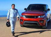 Range Rover Sport. Рекорд восхождения на Пайкс Пик