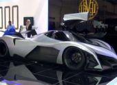 В Дубае показали 5000-сильный суперкар Devel Sixteen