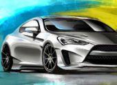 ARK Genesis Coupe Legato. Едем на SEMA