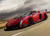 Lamborghini Veneno Roadster. Девять и не штуки больше