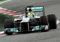 Нико Росберг, Mercedes F1, 2013