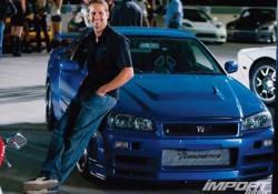 Nissan Skyline GT-R R34, Пол Уокер, Форсаж