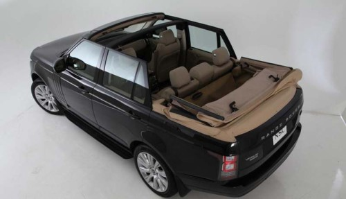 Range Rover Concertible от Newport Convertible Engineering