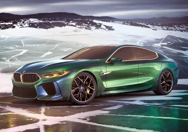 BMW Concept M8 Gran Coupe Concept