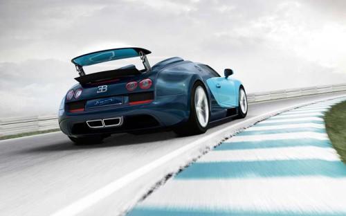 Bugatti Veyron Grand Sport Vitesse Jean-Pierre Wimille Legend Edition